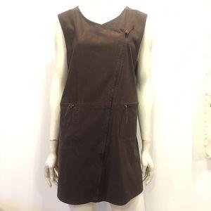 Faux Suede GOGO styled mini dress